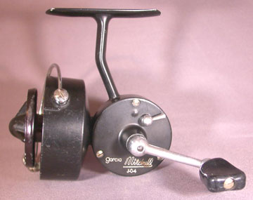 left side of reel